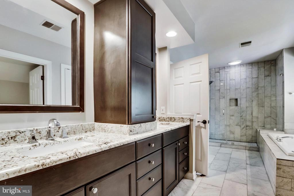 Double Vanity Sinks, Granite Counters - 43690 MINK MEADOWS ST, CHANTILLY