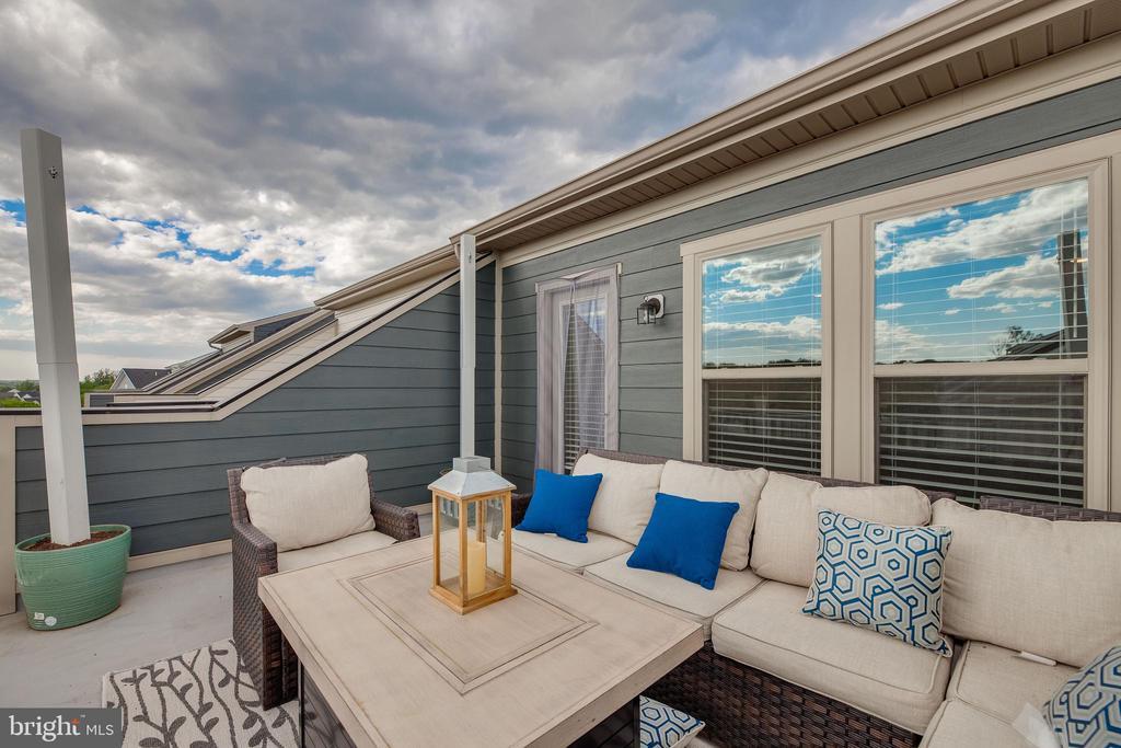 Rooftop Terrace - 2058 ALDER LN, DUMFRIES