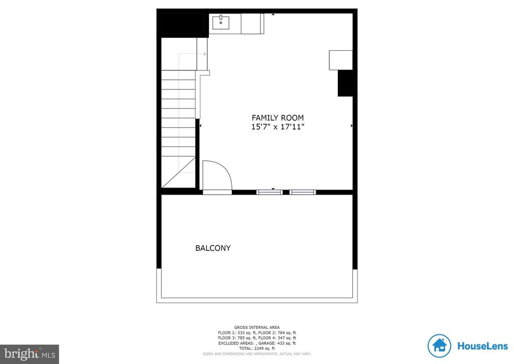 4th Level Floor Plan - 2058 ALDER LN, DUMFRIES