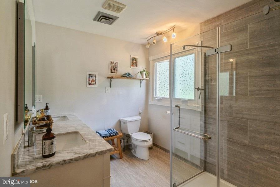 Main bathroom - 39895 THOMAS MILL RD, LEESBURG