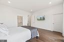 Master Bedroom w/large walk-in closet - 20382 NORTHPARK DR, ASHBURN
