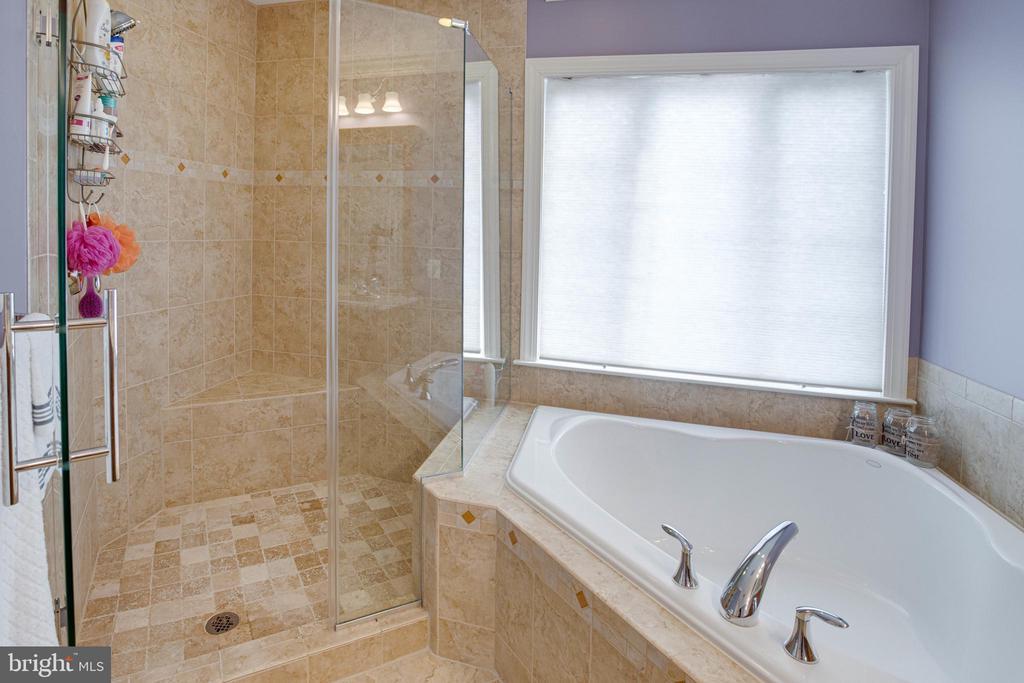 Upgraded shower - 24960 ASHGARTEN DR, CHANTILLY