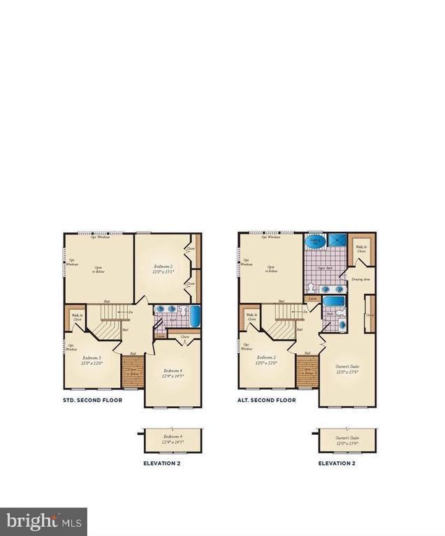 Second Level Floor Plan - 530 WATERSVILLE RD, MOUNT AIRY