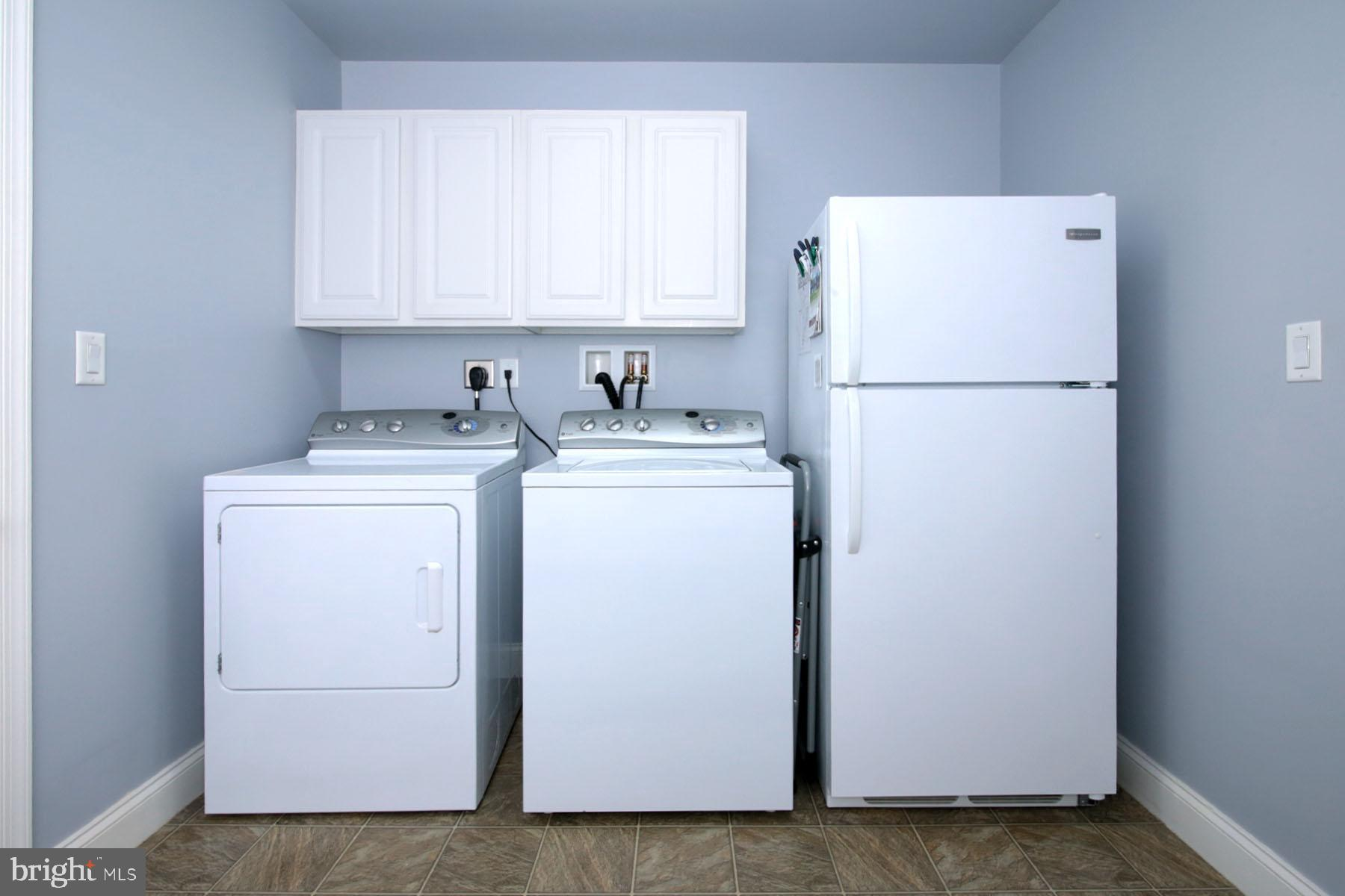 Washer, Dryer and Additional Refrigerator Stays