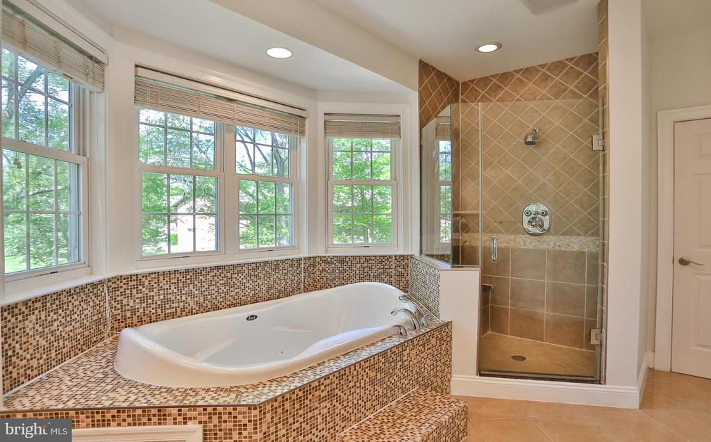 Master Bath with Jetted Tub - 7215 TANAGER ST, SPRINGFIELD