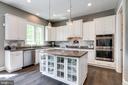Granite countertop & abundant cabinets - 2094 TWIN SIX LN, DUMFRIES