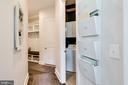Hallway to main level laundry & mud room - 2094 TWIN SIX LN, DUMFRIES