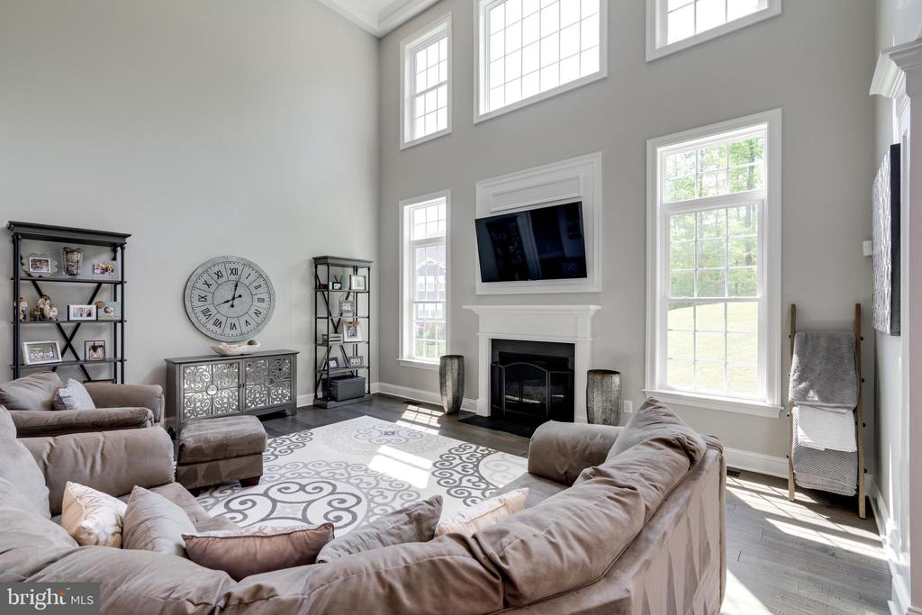 The gas fireplace adds to the ambiance. - 2094 TWIN SIX LN, DUMFRIES