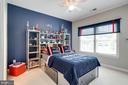 Bedroom #4  Go Patriots!! - 2094 TWIN SIX LN, DUMFRIES