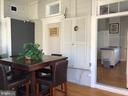 Sun Room with chalk wall. - 310 AMHERST ST, WINCHESTER