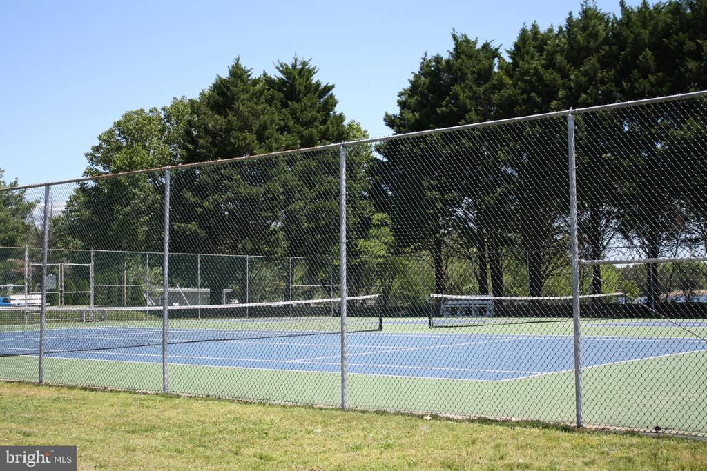 Tennis courts for exercise workout - 301 BURR DR, RUTHER GLEN