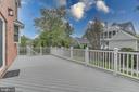 Backyard deck 1 - 916 N CLEVELAND ST, ARLINGTON