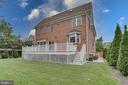 Backyard left side - 916 N CLEVELAND ST, ARLINGTON