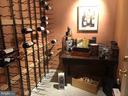 Basement wine cellar - 6166 POHICK STATION DR, FAIRFAX STATION