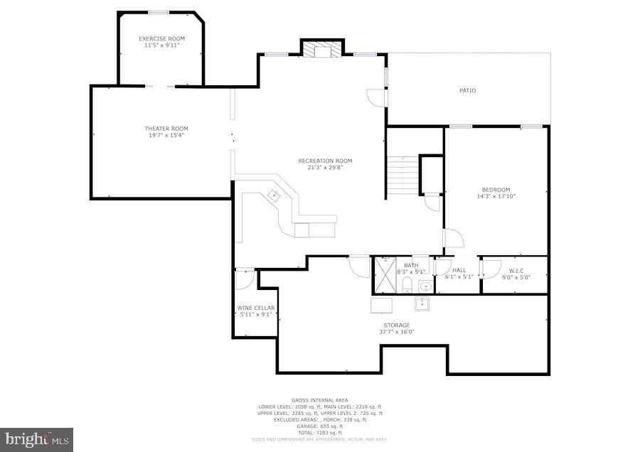 Lower Level - 3701 MAPLE HILL RD, FAIRFAX