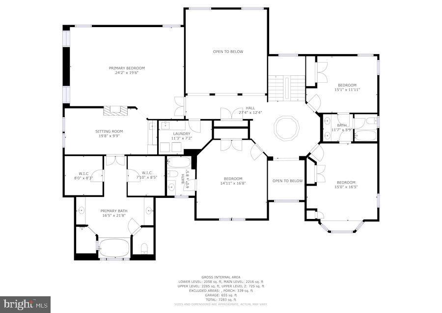 Upper Level - 3701 MAPLE HILL RD, FAIRFAX