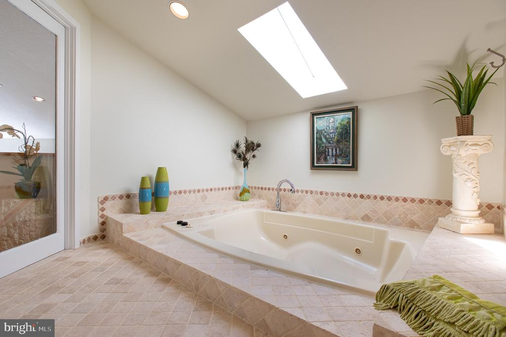 Owner's Soaking Tub - 8001 THORNLEY CT, BETHESDA