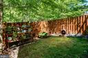 Fully fenced lower patio - 42740 OGILVIE SQ, ASHBURN