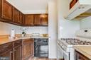 Kitchen w/ gas cooking ! - 431 N ARMISTEAD ST #607, ALEXANDRIA