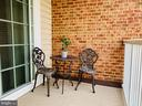 Balcony area on the 4th floor affords great views - 20640 HOPE SPRING TER #401, ASHBURN