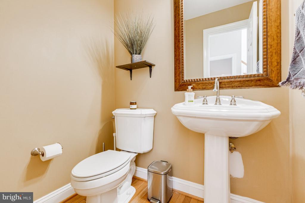 Main level powder bathroom - 42308 GREEN MEADOW LN, LEESBURG
