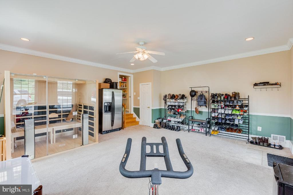 Alt view of extra room exercise room,play room - 42308 GREEN MEADOW LN, LEESBURG
