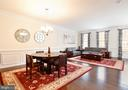 Beautiful shadowboxes and crown molding - 42615 LISBURN CHASE TER, CHANTILLY