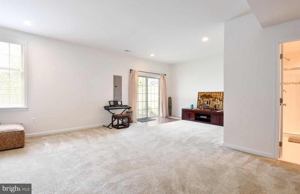 French doors to the backyard - 42615 LISBURN CHASE TER, CHANTILLY