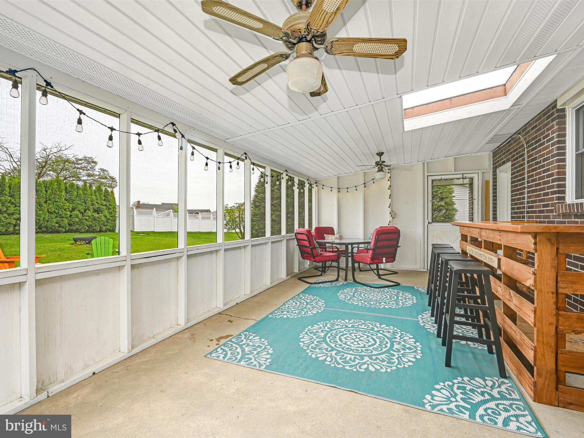 Wonderful screened in porch to relax
