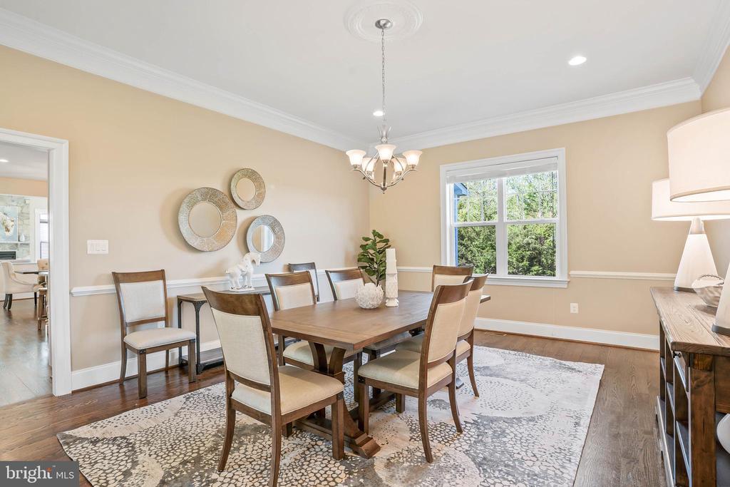 Formal dining room - 20585 STONE FOX CT, LEESBURG