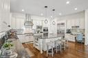 Gourmet kitchen with upgrades galore! - 20585 STONE FOX CT, LEESBURG