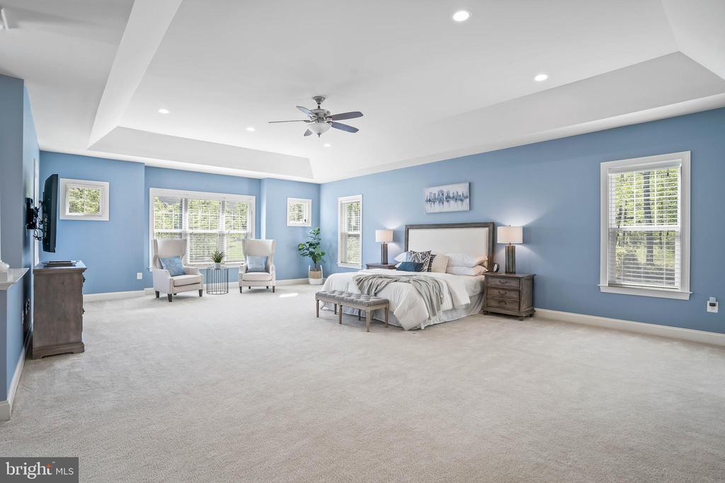 Oversized master bedroom suite - 20585 STONE FOX CT, LEESBURG