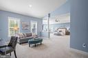 Oversized sitting area in master bedroom - 20585 STONE FOX CT, LEESBURG