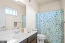 Fourth full bathroom on upper level - 20585 STONE FOX CT, LEESBURG