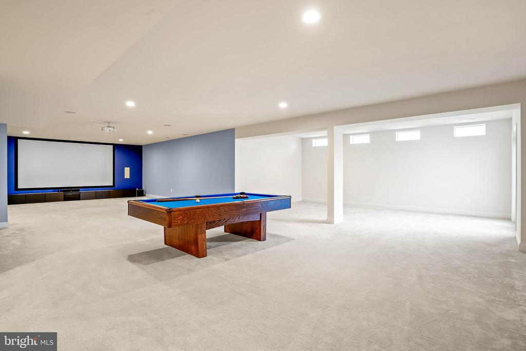 So much potential in this finished basement - 20585 STONE FOX CT, LEESBURG