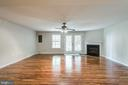 Rec Room with Fireplace - 605 BURBERRY TER SE, LEESBURG