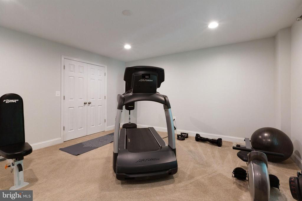 6th bedroom currently workout room - 15080 ADDISON LN, WOODBRIDGE