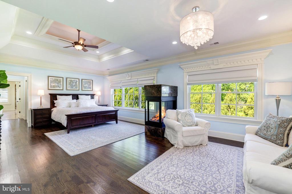 Owner's Bedroom Suite - 957 MACKALL FARMS LN, MCLEAN