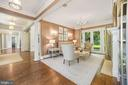 Living Room - 7301 DULANY DR, MCLEAN