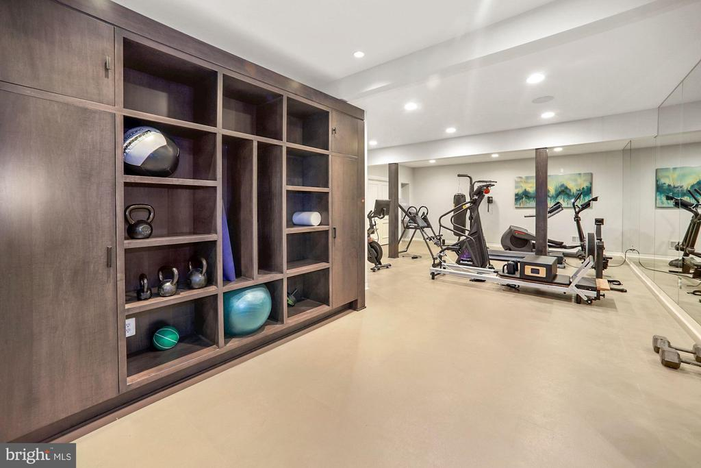 Exercise facility - 7301 DULANY DR, MCLEAN