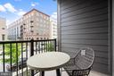 Balcony with view of green space - 11200 RESTON STATION BLVD #301, RESTON