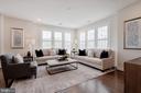 Living room - 11200 RESTON STATION BLVD #301, RESTON