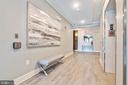 Building entry hallway - 11200 RESTON STATION BLVD #301, RESTON