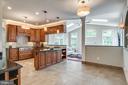Kitchen with stainless steel appliances - 20894 LAUREL LEAF CT, ASHBURN