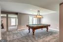Pool table conveys - 20894 LAUREL LEAF CT, ASHBURN