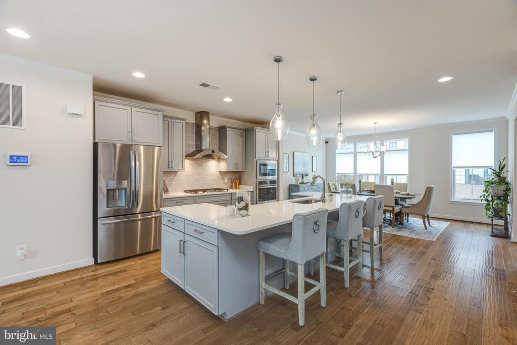 Open floorplan - 42280 IMPERVIOUS TER, BRAMBLETON