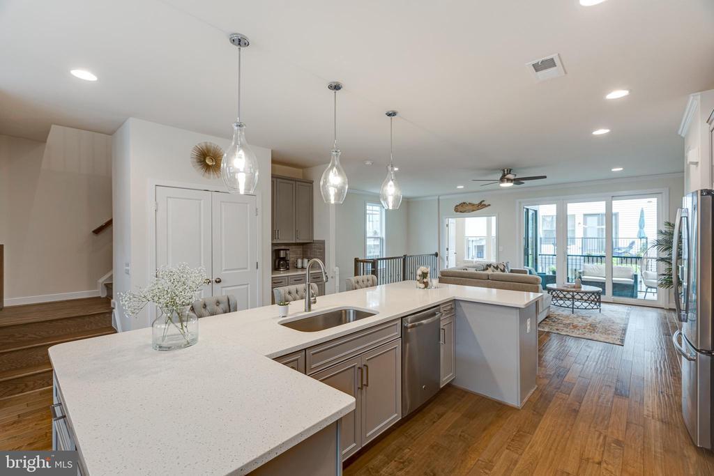 Large kitchen island - 42280 IMPERVIOUS TER, BRAMBLETON