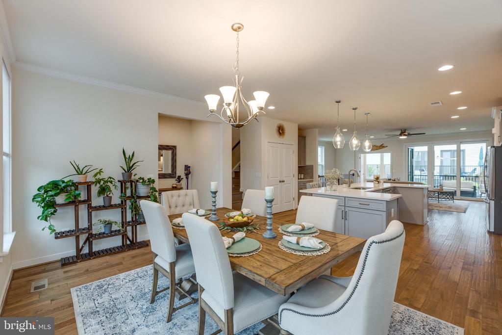 Dining room - 42280 IMPERVIOUS TER, BRAMBLETON