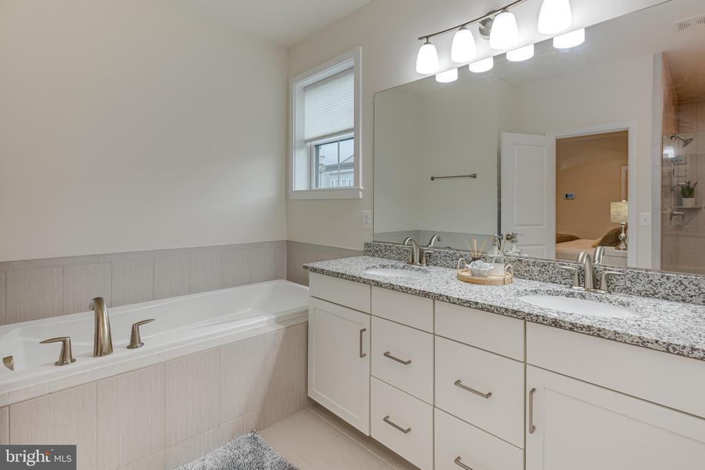 Large soaking tub in master bath - 42280 IMPERVIOUS TER, BRAMBLETON
