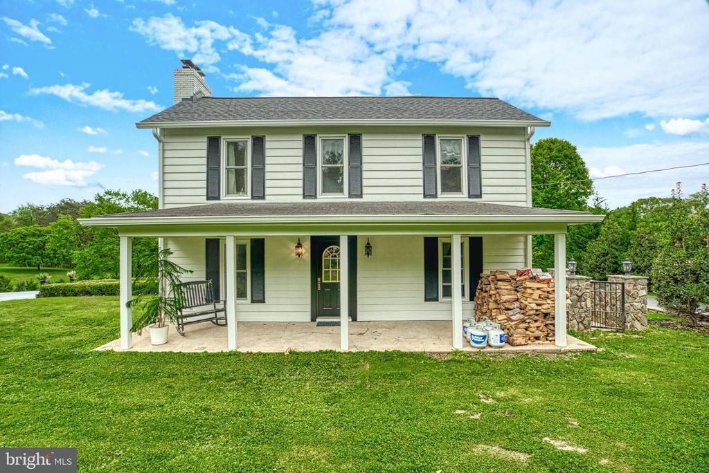 Side porch of farm house - 7500 CLIFTON RD, CLIFTON